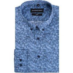 Koszula SIMONE KDWS000222. Szare koszule męskie Giacomo Conti, na jesień, z bawełny. Za 199.00 zł.