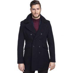 Płaszcz CARMINE PSGS000033. Czerwone płaszcze męskie Giacomo Conti, na jesień, z kaszmiru. Za 1,499.00 zł.