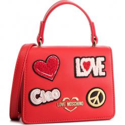 Torebka LOVE MOSCHINO - JC4084PP17LJ0500 Rosso. Czerwone torebki do ręki damskie Love Moschino, ze skóry ekologicznej. Za 799.00 zł.