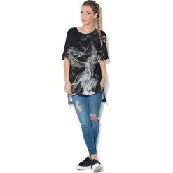Colour Pleasure Koszulka CP-033  34 czarna r. uniwersalny. T-shirty damskie Colour Pleasure. Za 76.57 zł.