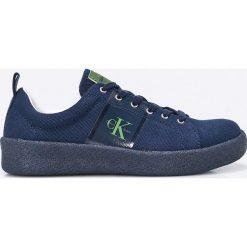 Calvin Klein Jeans - Tenisówki. Szare trampki męskie Calvin Klein Jeans, z jeansu. W wyprzedaży za 299.90 zł.