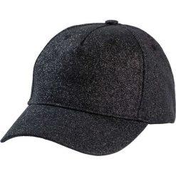 Czapka z daszkiem z połyskującego materiału bonprix czarny. Czapki i kapelusze damskie marki WED'ZE. Za 37.99 zł.