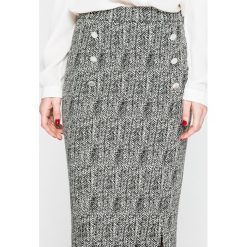 Trussardi Jeans - Spódnica. Szare spódnice damskie TRUSSARDI JEANS, z bawełny. W wyprzedaży za 479.90 zł.