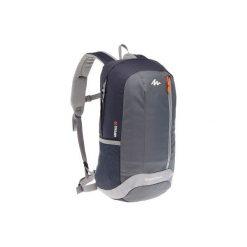 Plecak turystyczny NH100 20 l. Szare plecaki damskie QUECHUA, z materiału. Za 29.99 zł.