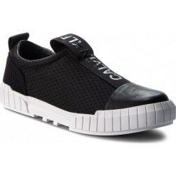 Trampki CALVIN KLEIN JEANS - Brett S1737 Black. Czarne trampki męskie Calvin Klein Jeans, z gumy. Za 569.00 zł.