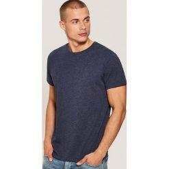 T-shirt basic - Granatowy. Niebieskie t-shirty męskie House. Za 25.99 zł.