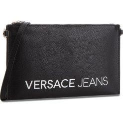 Torebka VERSACE JEANS - E3VSBPBA 70709 899. Czarne listonoszki damskie Versace Jeans, z jeansu. W wyprzedaży za 239.00 zł.