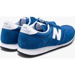 New Balance - Buty U420BWN. Niebieskie buty sportowe męskie New Balance, z gumy. W wyprzedaży za 239.90 zł.