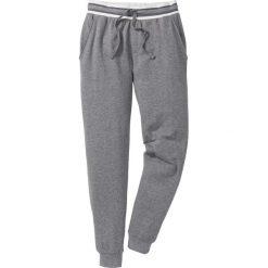 Spodnie sportowe pique bonprix szary melanż. Spodnie sportowe męskie marki bonprix. Za 79.99 zł.
