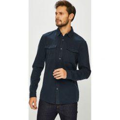 Review - Koszula. Czarne koszule męskie Review, z bawełny, z klasycznym kołnierzykiem, z długim rękawem. Za 149.90 zł.