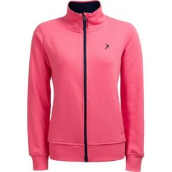Bluza damska BLD610 - różowy neon - Outhorn. Czerwone bluzy damskie Outhorn, na lato, z bawełny. W wyprzedaży za 39.99 zł.