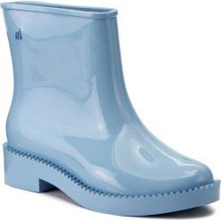Kalosze MELISSA - Rain Drop Boot Ad 32185  Light Blue 01307. Niebieskie kozaki damskie Melissa, z materiału. W wyprzedaży za 279.00 zł.