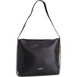 Torebka NOBO - NBAG-F4300-C020 Czarny. Czarne torebki do ręki damskie Nobo, ze skóry ekologicznej. W wyprzedaży za 199.00 zł.