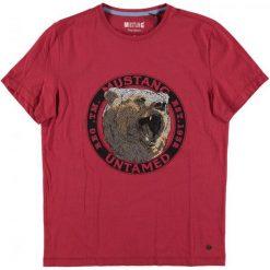 Mustang T-Shirt Męski, Xl, Czerwony. Czerwone t-shirty męskie Mustang. Za 128.00 zł.