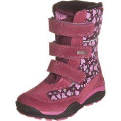 Kozaki zimowe w kolorze fioletowym. Buty zimowe dziewczęce Zimowe obuwie dla dzieci. W wyprzedaży za 142.95 zł.