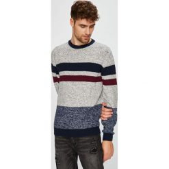 Medicine - Sweter Retro Racer. Szare swetry przez głowę męskie MEDICINE, z bawełny, z okrągłym kołnierzem. W wyprzedaży za 79.90 zł.