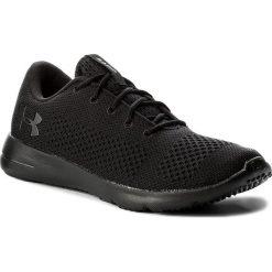 Buty UNDER ARMOUR - Ua Rapid 1297445-004 Blk/Blk/Ath. Czarne buty sportowe męskie Under Armour, z gumy. W wyprzedaży za 199.00 zł.