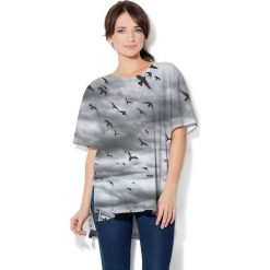 Colour Pleasure Koszulka CP-033  130 szara r. uniwersalny. T-shirty damskie Colour Pleasure. Za 76.57 zł.