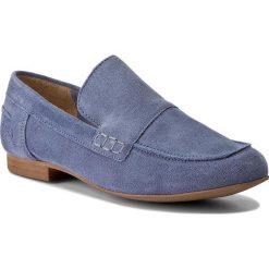 Mokasyny BRONX - 65812-C BX 1249 Jeans Blue 2004. Niebieskie mokasyny damskie Bronx, z jeansu. W wyprzedaży za 189.00 zł.