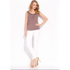 Bluzka top z plisami bonita. Szare t-shirty i topy dla dziewczynek Sunwear, z krótkim rękawem. W wyprzedaży za 29.90 zł.