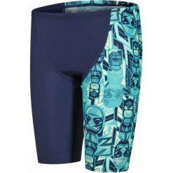 Speedo Spodenki Allover Panel Jammer Junior Navy/Jade/Green Glow 22. Niebieskie kąpielówki dla chłopców Speedo. W wyprzedaży za 99.00 zł.