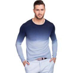 Sweter PIETRO SWWS000103. Niebieskie swetry przez głowę męskie Giacomo Conti, z bawełny. Za 229.00 zł.