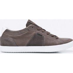 Geox - Buty. Szare buty sportowe męskie Geox, z materiału. W wyprzedaży za 339.90 zł.