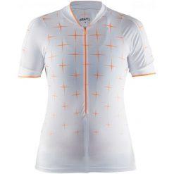 Craft Koszulka Rowerowa Belle Glow White S. Białe koszulki sportowe damskie Craft, z włókna. W wyprzedaży za 235.00 zł.