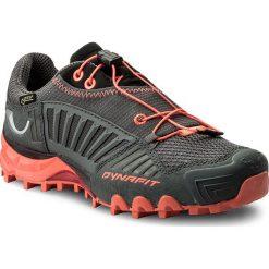 Buty DYNAFIT - Feline Gtx GORE-TEX 64021 Carbon/Fluo Coral 0789. Szare obuwie sportowe damskie Dynafit, z gore-texu. W wyprzedaży za 549.00 zł.