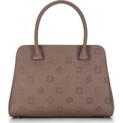 Torebka damska 87-4E-423-9. Brązowe torebki do ręki damskie Wittchen, w paski. Za 659.00 zł.