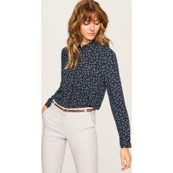 Koszula we wzory - Granatowy. Niebieskie koszule damskie Reserved. Za 69.99 zł.