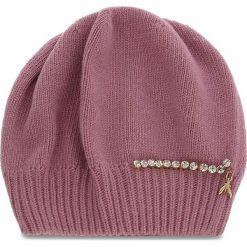 Czapka PATRIZIA PEPE - 2V8388/A3IP-I2XI  Rose/Shiny Crystal. Czerwone czapki i kapelusze damskie Patrizia Pepe, z kaszmiru. Za 289.00 zł.