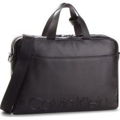 Torba na laptopa CALVIN KLEIN - Statement Zip Slm Laptop Bag K50K503891 001. Czarne torby na laptopa męskie Calvin Klein, ze skóry. Za 1,299.00 zł.