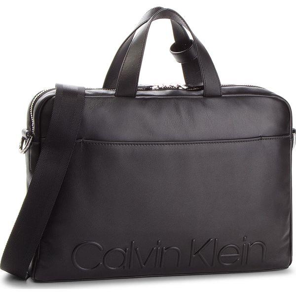 656112ec9656f Torba na laptopa CALVIN KLEIN - Statement Zip Slm Laptop Bag ...