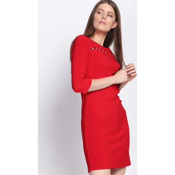 f91fc8e058 Czerwona Sukienka Sweet Love - Sukienki damskie marki Born2be. Za ...