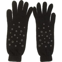 Rękawiczki Damskie LIU JO - Guanto Applicazioni N67249 M0300 Black 22222. Czarne rękawiczki damskie Liu Jo, z materiału. W wyprzedaży za 189.00 zł.