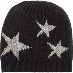 Czapka bonprix czarno-szaro-srebrny kolor. Czapki i kapelusze damskie marki WED'ZE. Za 37.99 zł.