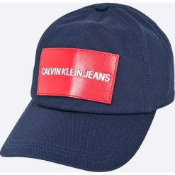 Calvin Klein Jeans - Czapka. Niebieskie czapki i kapelusze męskie Calvin Klein Jeans. W wyprzedaży za 119.90 zł.