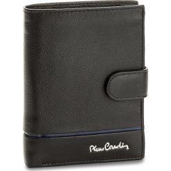Duży Portfel Męski PIERRE CARDIN - TILAK15 331A Nero/Blue. Czarne portfele męskie Pierre Cardin, ze skóry. Za 125.00 zł.