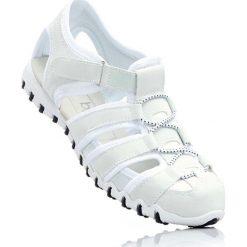 Sandały bonprix biały. Obuwie sportowe damskie marki bonprix. Za 74.99 zł.