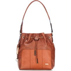 Torebka damska 87-4Y-763-5. Brązowe torebki do ręki damskie Wittchen, z motywem zwierzęcym. Za 279.00 zł.