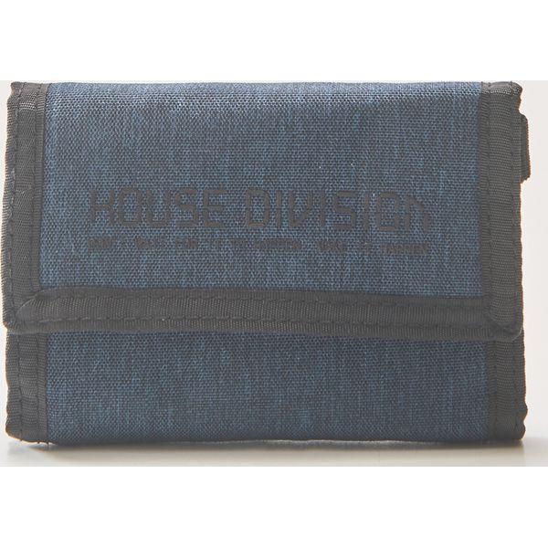 4d0ba5b70ed4f Materiałowy portfel z brelokiem - Granatowy - Portfele męskie marki ...