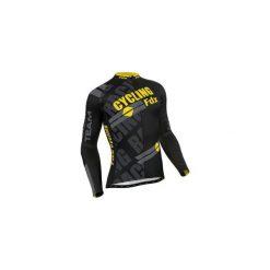 Bluza rowerowa męska FDX Pro Cycling Long Sleeve Thermal Jersey M. Czarne bluzy męskie FDX, z jersey. Za 219.90 zł.