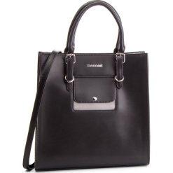 Torebka MONNARI - BAG2470-020 Black With Grey. Czarne torebki do ręki damskie Monnari, ze skóry ekologicznej. W wyprzedaży za 199.00 zł.