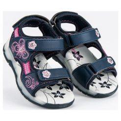 Sandały dziewczęce niebieskie r. 29. Sandały dziewczęce marki bonprix. Za 106.59 zł.