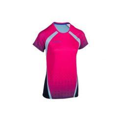 Koszulka do siatkówki V500 damska różowa. Czerwone t-shirty damskie KIPSTA, z tkaniny. Za 49.99 zł.
