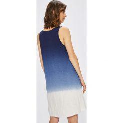 Lauren Ralph Lauren - Koszula nocna. Szare koszule nocne damskie Lauren Ralph Lauren, z bawełny. W wyprzedaży za 299.90 zł.