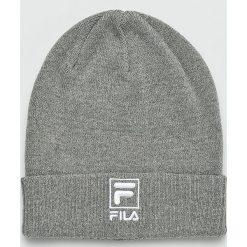 Fila - Czapka. Szare czapki i kapelusze męskie Fila. W wyprzedaży za 99.90 zł.