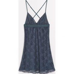 Koszula nocna - Niebieski. Niebieskie koszule nocne damskie Reserved. Za 79.99 zł.