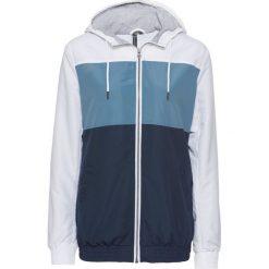 Bluza rozpinana treningowa bonprix perłowy niebieski - ciemnoniebieski - biały. Bluzy damskie marki KALENJI. Za 79.99 zł.